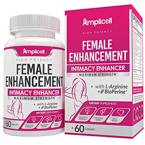 Amplicell Female Enhancement - Libido Booster for Women (60caps) and Advanced Keto Pills BHB Ketosis Diet for Women (60caps) 7