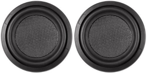 Pair of Kenwood Excelon KFC-XW1000F 10' 2000W Shallow Car Audio Subwoofers Subs