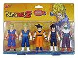 Dragon Ball Z - 34503 - Pack de 5 Figurines Set Héros 2