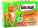 Kitekat Cibo per Gatto, il Cacciatore in Salsa con Agnello, Tacchino, Carni Bianche e Coniglio 12 x 100 g - 4 Confezioni (48 Pezzi in Totale)