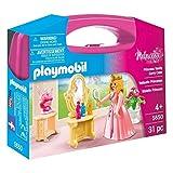 PLAYMOBIL Princess Vanity Carry Case - Figuras de Juguete para niños (Multicolor, 4 año(s), De plástico, Chica, 31 Pieza(s), Caja Cerrada)