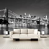 murimage Papier New York 366cm x 254cm Colle Inclus Photo Mural Manhattan...