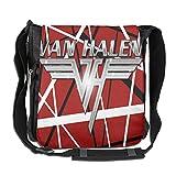 Van Halen - Bolso de hombro para hombre y mujer de gran capacidad