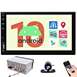 EINCAR 7' Android Head Unit Quad Core HD Capacitive Touch Screen Double 2 Din Car Radio Support Bluetooth 1080P Mirrorlink Auto GPS Navigation Stereo System PC Tablet Reverse Camera OBD WIFI 4G USB