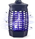 Qxmcov Lampe Anti Moustique Électrique, 4W UV Piège à Moustiques, Répulsifs Non Toxique...