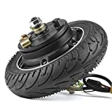 kun ray 8 Inch Electric Scooter Hub Motor 350W 24V 36V, Brushless Toothless Wheel Motor, with Airless Tire, for E-Scooter E-Bike Skateboard DIY Part (24V350W)