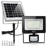 Projecteur LED Solaire Avec Détecteur, CLY 60LED Lampe Solaire Exterieur...