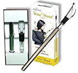 The Original Wine Wand - Wine Pourer, Aerator & Iceless Chiller by Chef Caron 3 in 1 Accessory - Perfect Gift for Any Wine Lover …