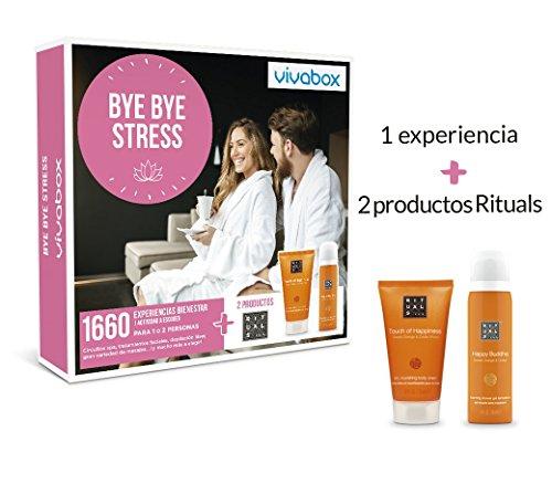 VIVABOX Caja Regalo -Bye Bye Stress- 1.660 Actividades. Incluye un...