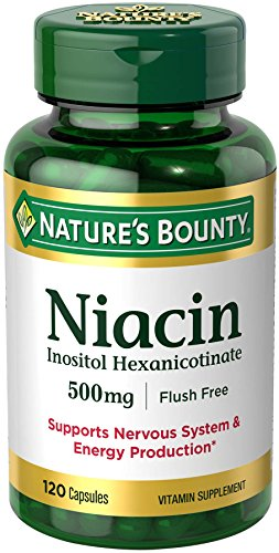 Nature's Bounty Niacin Flush Free 500 mg