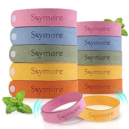 Skymore Bracelet Fibre de Citronnelle pour Adultes/Enfant (Paquet de 12) -...