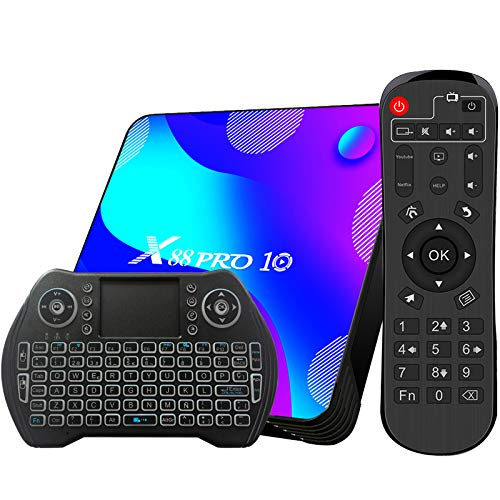 Android TV Box 11, 4GB RAM 32GB ROM Android 11 Compatible con 4K...