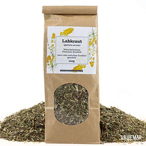 Valdemar Manufaktur Premium LABKRAUT-Tee 100g - HANDVERPACKT In Deutschland
