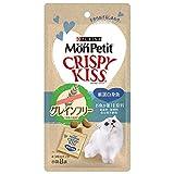 モンプチ 猫用おやつ クリスピーキッス グレインフリー 厳選白身魚 猫用 24gx5 (まとめ買い)