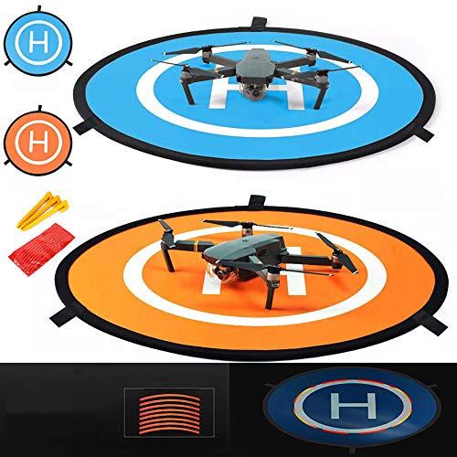 iMusk Drone e Quadcopter Landing Pad 30 Pollici (75 cm) RC Aircraft Soft Superficie di Atterraggio...