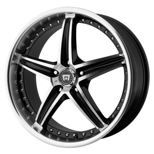 Motegi Racing Series MR107 Gloss Black Finish Machined Wheel (20x8.5'/5x4.5')