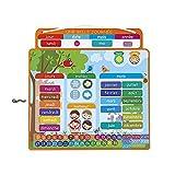 Janod - Agenda Magnétique, Une Belle Journée - Calendrier Enfant Educatif...