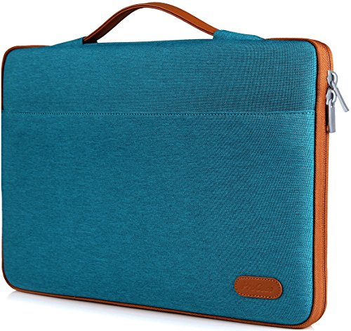 ProCase 14-15.6 Inch Laptop Sleeve Case Protective Bag, Ultrabook Notebook Carrying Case Handbag for MacBook Pro 16' / 14' 15' 15.6' Dell Lenovo HP Asus Acer Samsung Sony Chromebook Computers –Teal