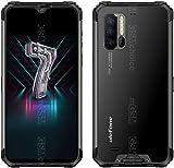 Ulefone Armor 7 Telephone Portable Incassable Debloqué - Helio P90 Octa Core 8Go RAM + 128Go, Caméra 48 MP, FHD+ 6.3'', Smartphone Résistant Etanche Antichoc Android 9.0 IP68, Charge sans Fil, NFC