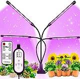 MATEHOM Lmpara de Planta, Lmpara de Cultivo de Plantas con Espectro Completo de Tipo Solar, con 360 Lucesluz Artificial para Plantas de germinacin, plntulas, floracin y fructificacin