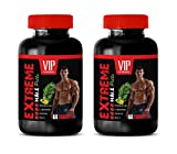 Male Enhancing Pills Increase Size and Girth - Extreme Male Pills - maca and Ginseng for Men - 2 Bottles 120 Tablets