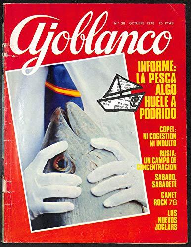 Ajoblanco. Núm 38. Octubre 1978
