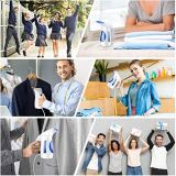 Hilife Steamer for Clothes Steamer, Handheld Garment Steamer Clothing Iron 240ml Big Capacity Upgraded Version