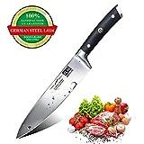 SHAN ZU 20CM Couteau de Cuisine Couteau de Chef Professionnel en...