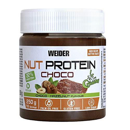 Weider Whey Protein Crunchy Choco Vegan Spread 250 g. 100% v
