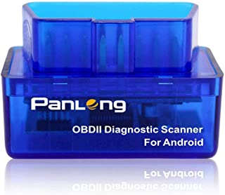 Panlong Bluetooth OBD2 OBDII Car Diagnostic Scanner Check Engine Light for Android..
