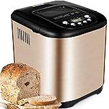 Yabano Acier Inox Machine à pain, 15 en 1 Automatiques Machines...
