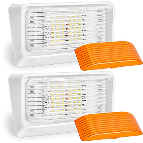 Kohree LED RV Porch Light Exterior Utility 12V Lighting Fixture...