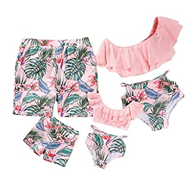 Design - Two piece swimsuits for women and girls, high waist design, comfortable liner mesh and soft padded Bra, retro swimwear to show you a most gorgeous woman in the world, sexy, attractive and charming. Material - Bathing suits made of high quali...