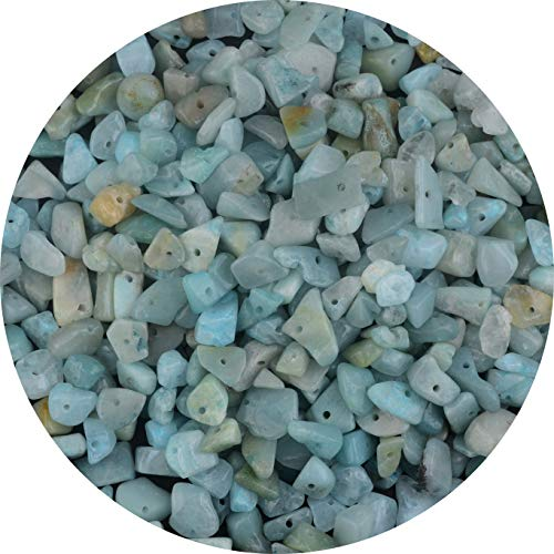 Natural Chip Stone Beads Amazonite Stone 5-8mm About 400...
