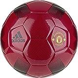 adidas English Premiership Manchester United FC Soccer Ball, Red, 5