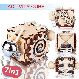 BrainUpToys Busy Cube