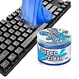 Pulitore per tastiera, 200 G, in gel per la pulizia della tastiera, per auto, PC, tablet, laptop, tastiere, fotocamere, stampanti, calcolatrici.
