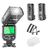 Neewer NW-562 E-TTL Flash Speedlite Kit per Canon DSLR,  NW-562 Flash...