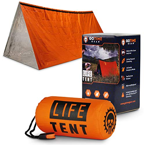 Life Tent Emergency Survival Shelter – 2 Person Emergency Tent...