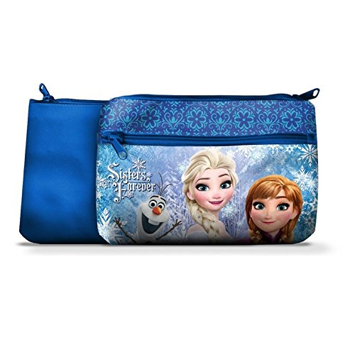 Star Licensing TOMBOLINO Frozen Elsa Anna Olaf Disney PORTACOLORI 1 Cerniera CM 24X15 - 44473/1