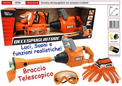 Toys Garden Débroussailleuse Brico avec Gants et Lunettes