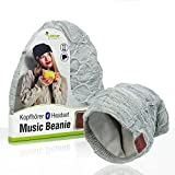 Sharon Casque d'écoute Music Headset Beanie   Bonnet tricoté Bluetooth...