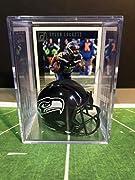 Collect them all Seattle Seahawks Tyler Lockett NFL mini helmet shadowbox Limited Edition keepsake