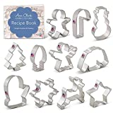 Ann Clark Cookie Cutters 11-Piece Christmas Cookie Cutter Set with...