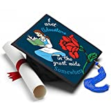 Tassel Toppers Beauty and The Beast - Adventure in The Great Wide Somewhere Decorated Grad Cap