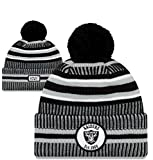 New Era NFL Oakland Raiders Sport Cuff Knit Hat Skull Cap Beanie