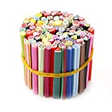 100pcs Nail Art Sticks 3D Designs Nail Art Manucure Nailart Fimo Canes Sticks...