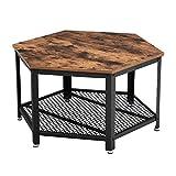 VASAGLE Table Basse Vintage, Table d'appoint, Table de Salon, Armature...