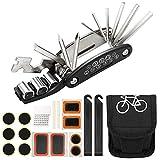Homealexa 16-en-1 Outil Réparation Vélo Multifonctionnel, Kit...