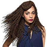 Bobbi Boss Synthetic Hair Crochet Braids African Roots Braid Collection Micro Locs 18' (1 - Pack, 1)